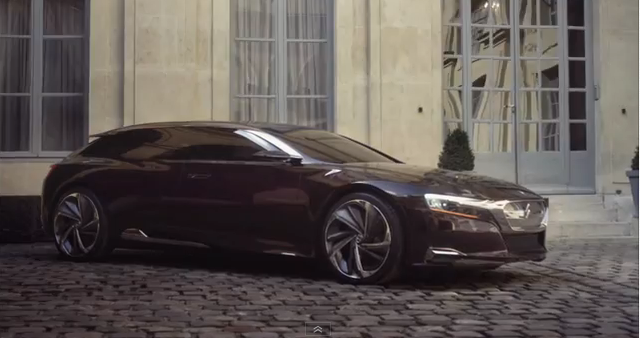 Citroen Numero 9 from video